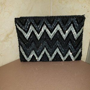 Vintage Beaded and Sequenced Clutch